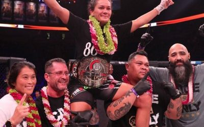 Ilima-Lei Macfarlane Wins Flyweight World Title