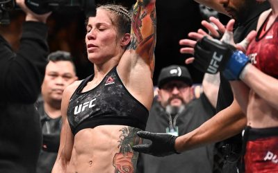 UFC Prague Results: Liz Carmouche Survives Scrappy Lucie Pudilova on Enemy Soil