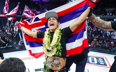 Ilima-Lei MacFarlane welcoming another title defense in her second home