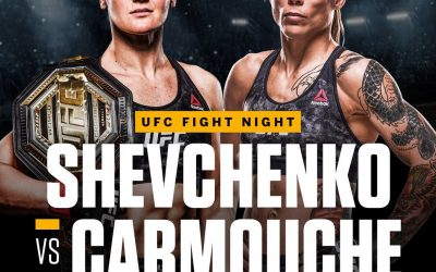 Liz Carmouche Fights for the UFC Flyweight Title