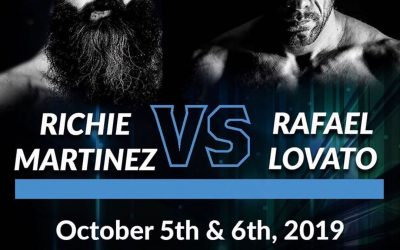 "Richie ""Boogeyman"" Martinez To Face Rafael Lovato Jr. At World Jiu-Jitsu Festival"